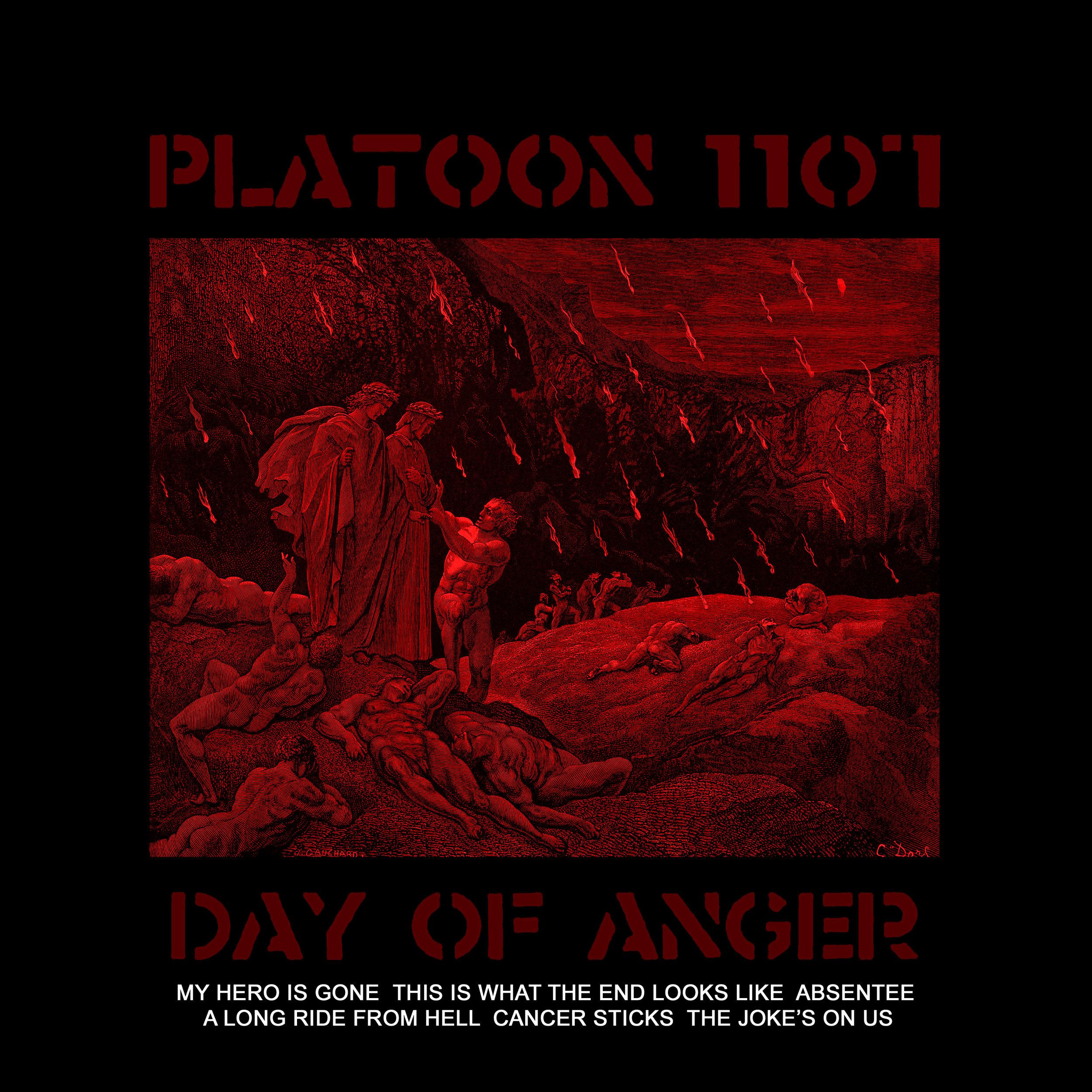 PLATOON 1107 - Day of Anger album cover.jpg