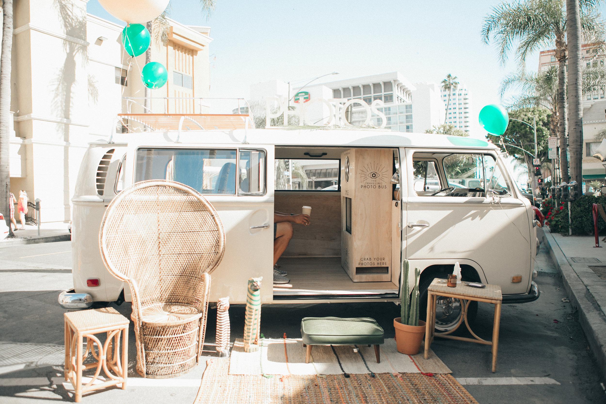 Traveling Photo Bus  - Ashley Ciaglia