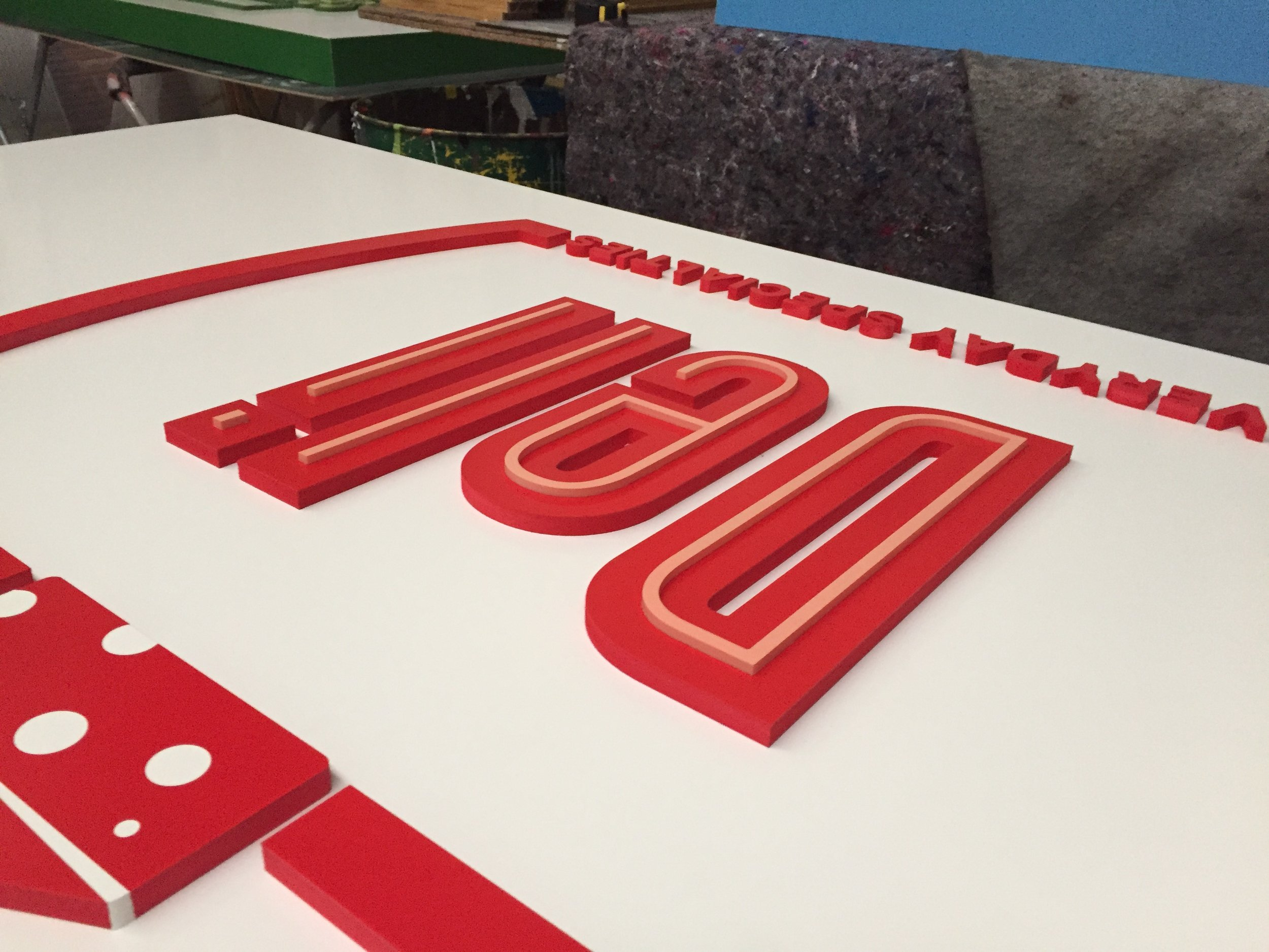 3D Signage   We can create amazing effects for your business signage   Learn More