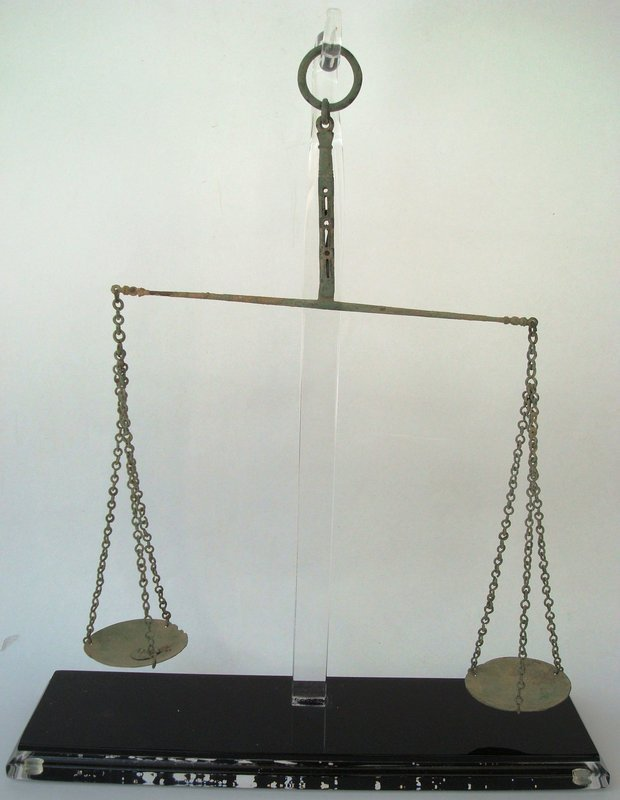 Bronze Balance Beam Scale c. 63 B.C.- 330 A.D.