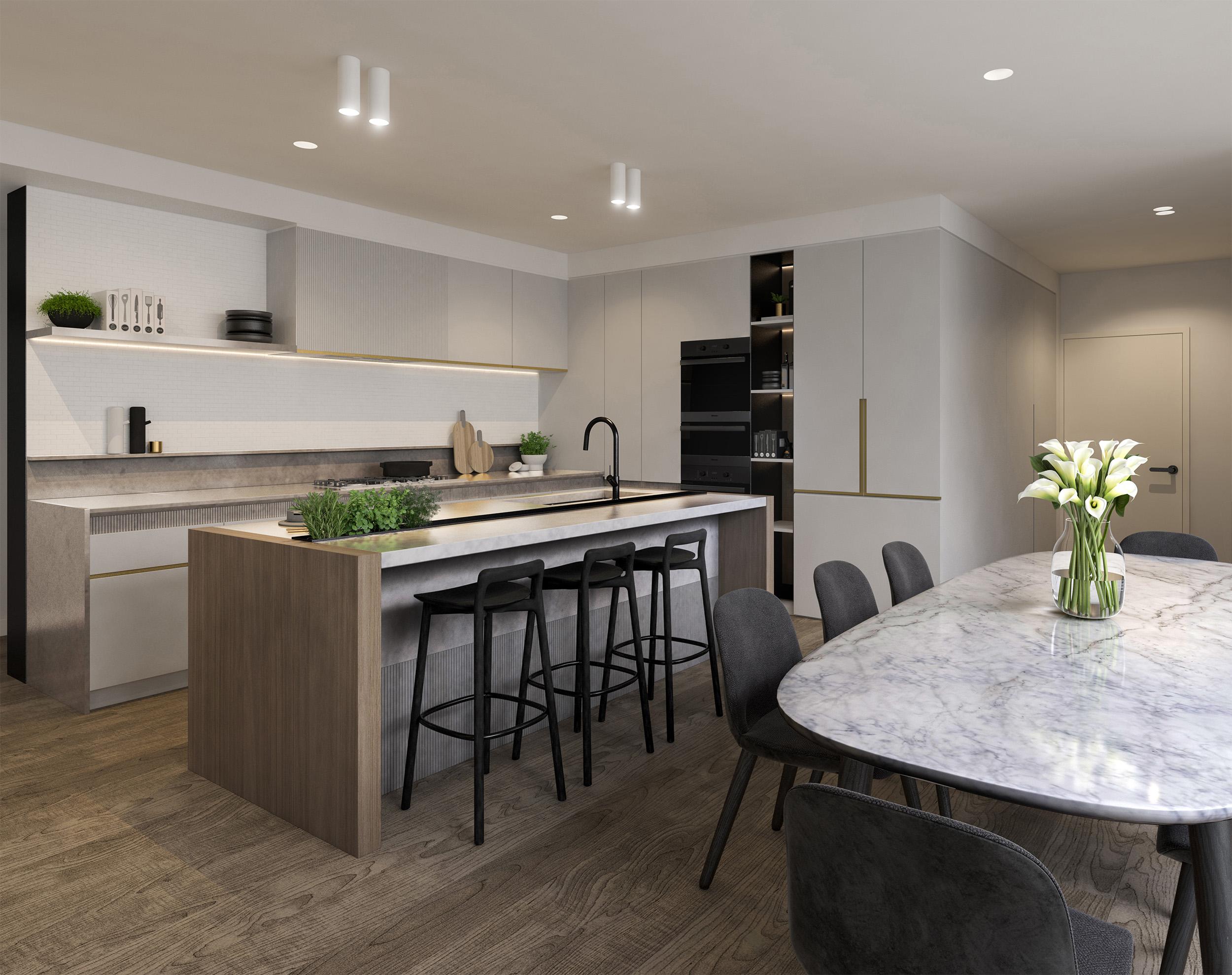 Well St - Apartment 1 - Kitchen - Light Scheme MR.jpg