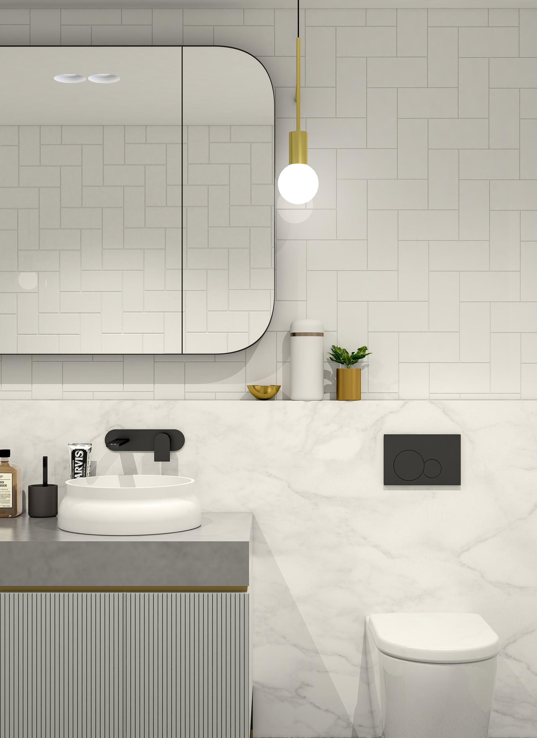 Well St - Apartment 1 - Bathroom Detail 2 - Light Scheme MR.jpg
