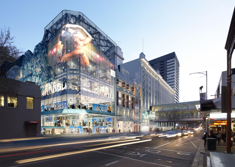 EMPORIUM MELBOURNE : STREETSCAPES