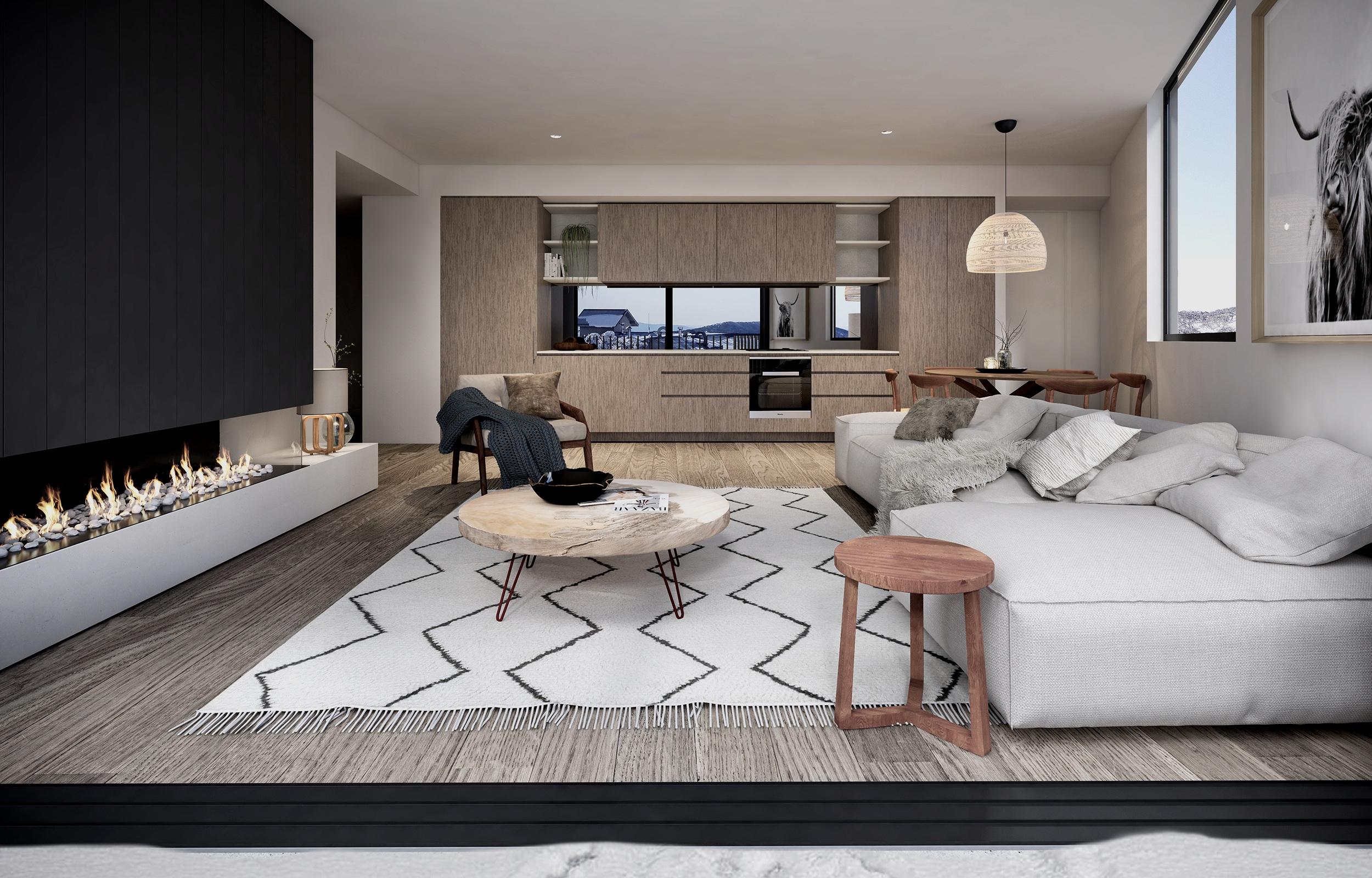 Mt Buller - Kooroora Interior Lounge In MR.jpg