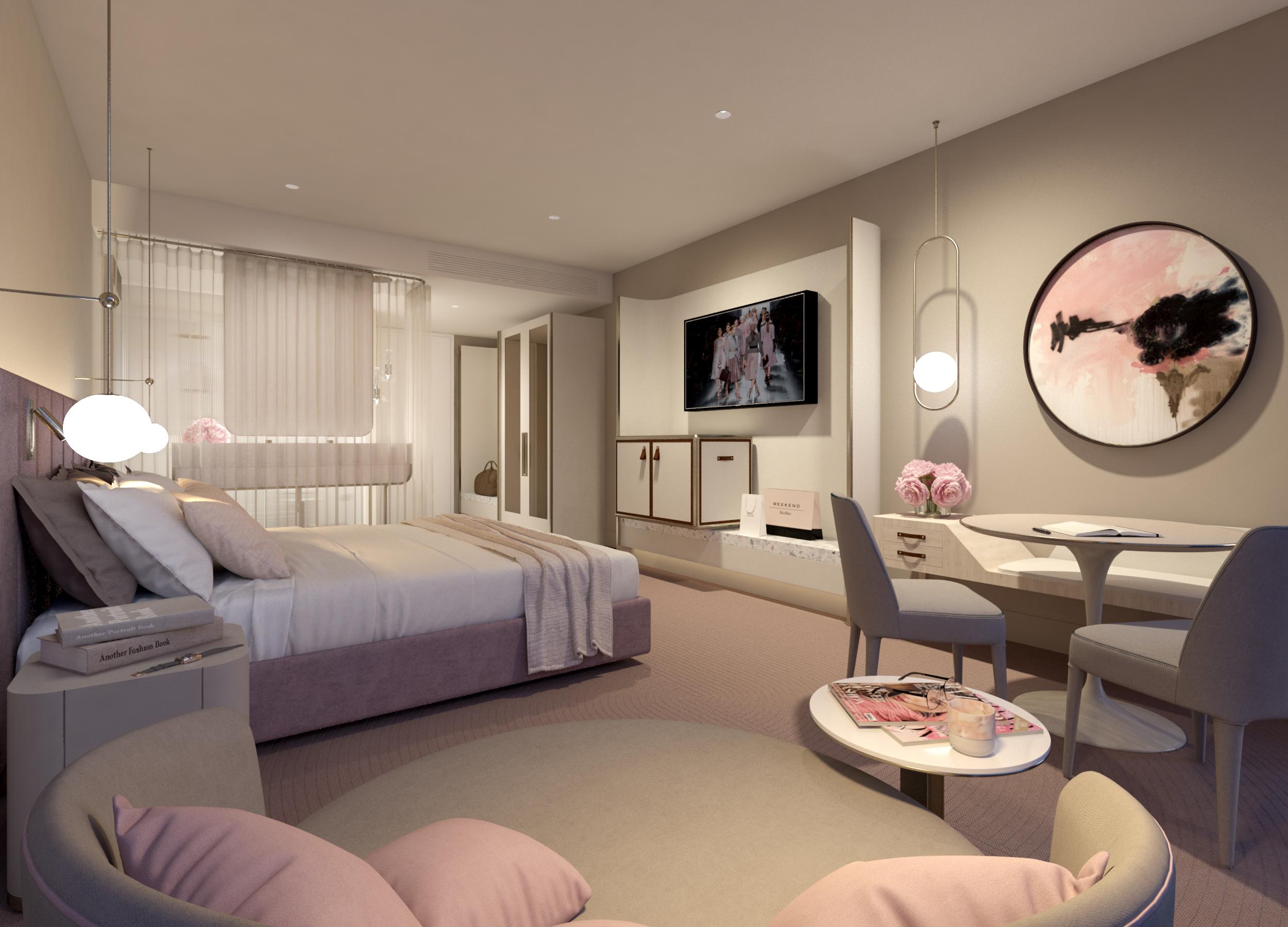 Chadstone Hotel - King Room - Open Plan In MR.jpg