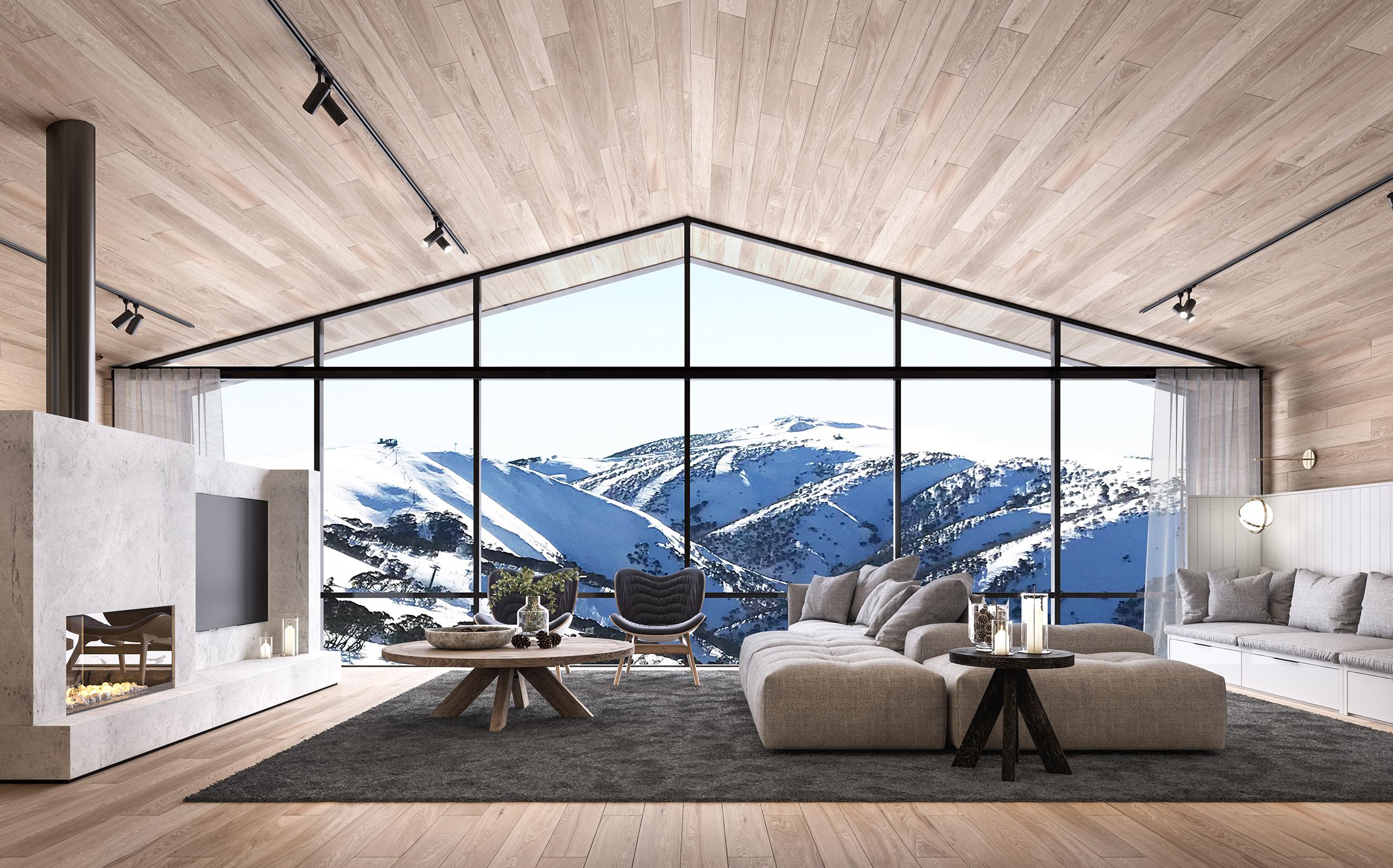 HOTHAM HOUSE : MOUNT HOTHAM - INTERIORS
