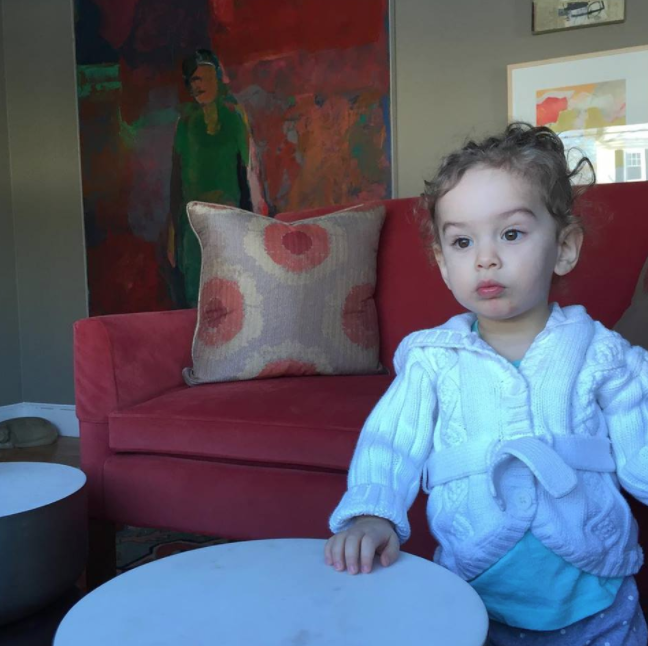 My daughter approves of the space. The home owners met her as an infant and are experienced grandparents. She is treated like a VIP guest at this house!