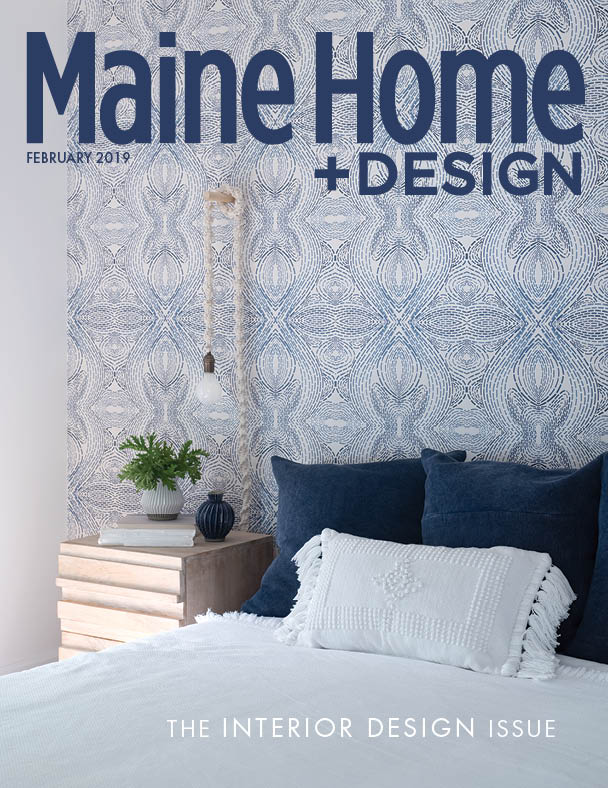 We were honored to get the cover of Maine home and design-especially the annual interior design issue .
