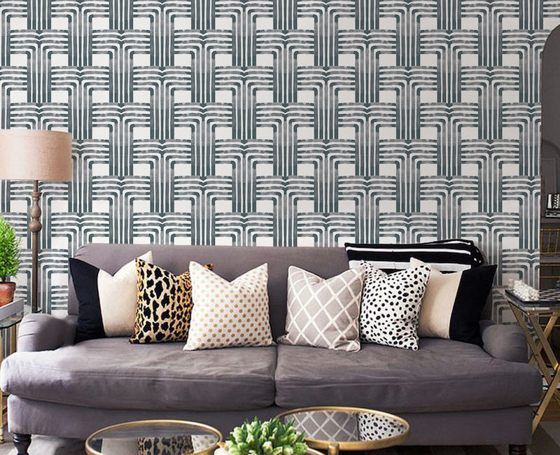 Introducing mitchell black wall coverings! This brand is exclusive to fiore home in Maine!