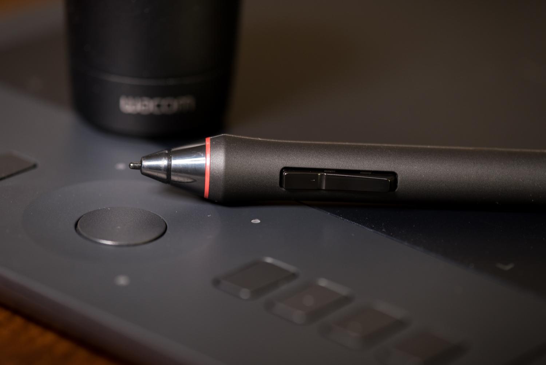 A Wacom Intuos Pro (Medium) tablet with stylus