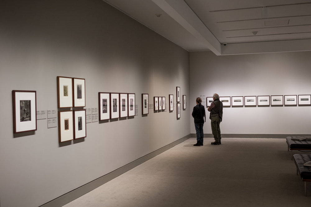 Sudek's work on display at the National Gallery of Canada.