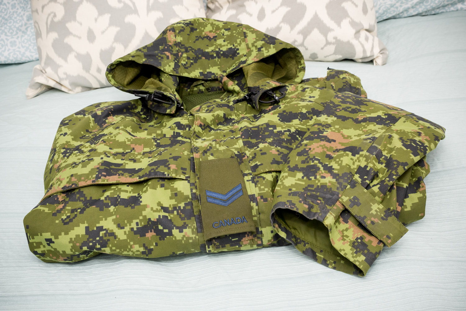 Canadian Forces Air Force rain jacket.