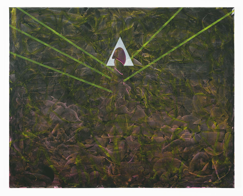 "Resurrection   Acrylic on canvas  60"" x 48"""
