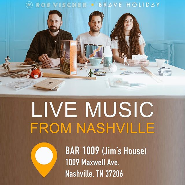 We have a Nashville show coming up! Thursday. July 18. 7pm.  It's a great show, and this is an awesome venue. There's only a couple chances to see it in Nashville. Ticket link is in the bio.  #houseshow #nashvilleconcerts #nashvilleevents #eventbrite #bar1009