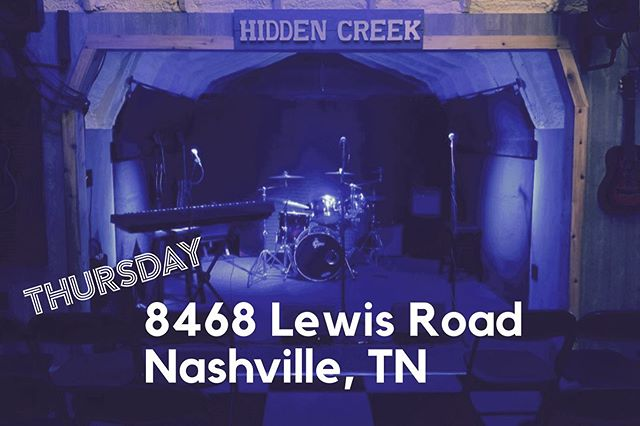 """Two shows in near Nashville on Thursday & Friday!  Both venues are awesome! Thursday is at 6pm & Friday is at 7pm. I would love to see y'all!  Link in bio to Thursday. Search """"Rob Vischer"""" on Eventbrite for Friday.  #awesome #nashville #concert #houseshow #nashvilleevents"""