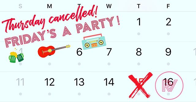 Thursday's show is cancelled. Friday's show is a party complete with food, brew, & music.  Donations at the door. 4100 Maxwell Rd, Antioch, TN.  #concert #houseshow #nashvilleevents #nashville #friday #fun #calendar