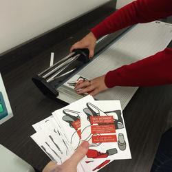 preparing support group fliers