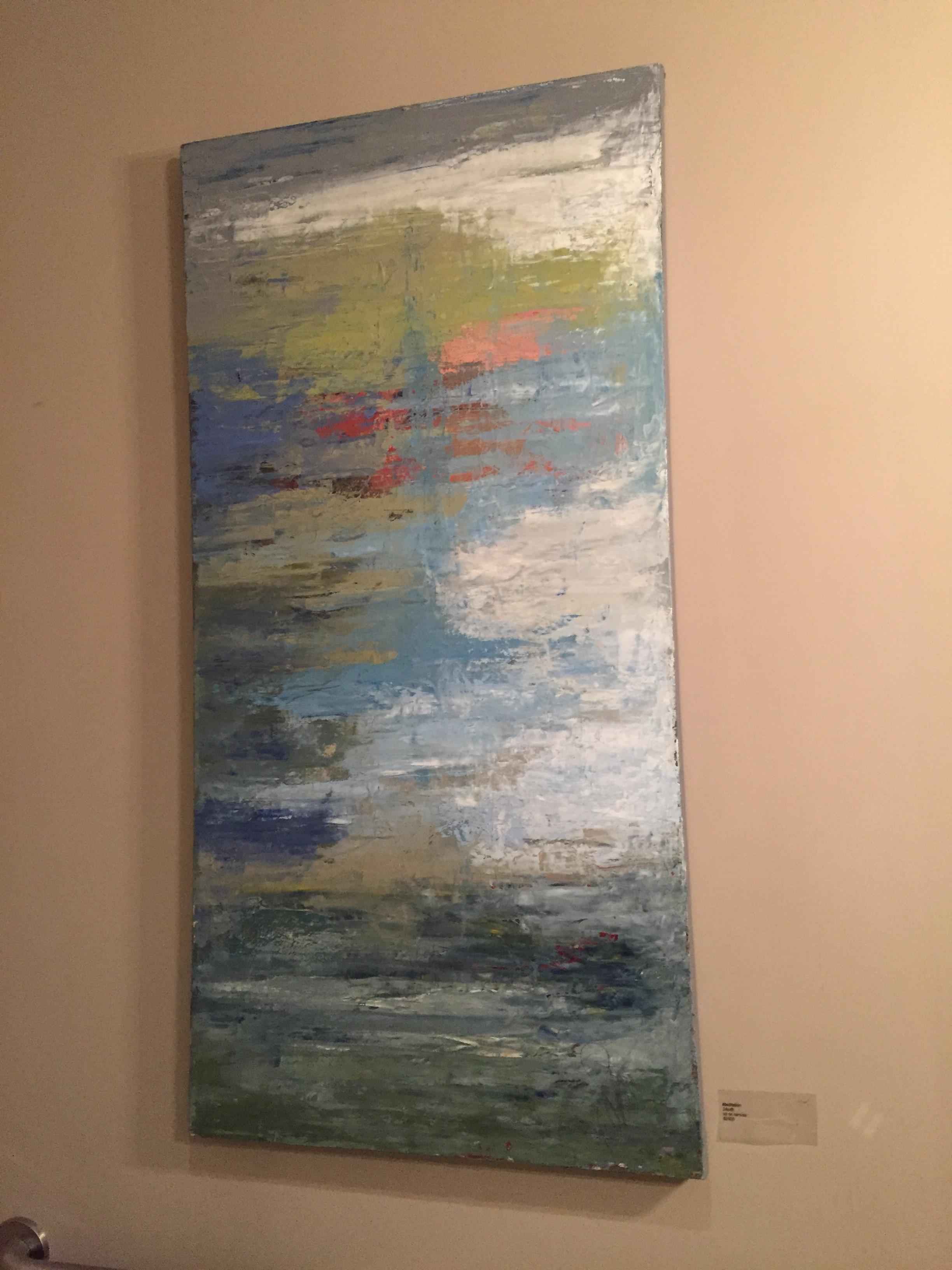 Meditation , 24x48, Oil on canvas, $2400