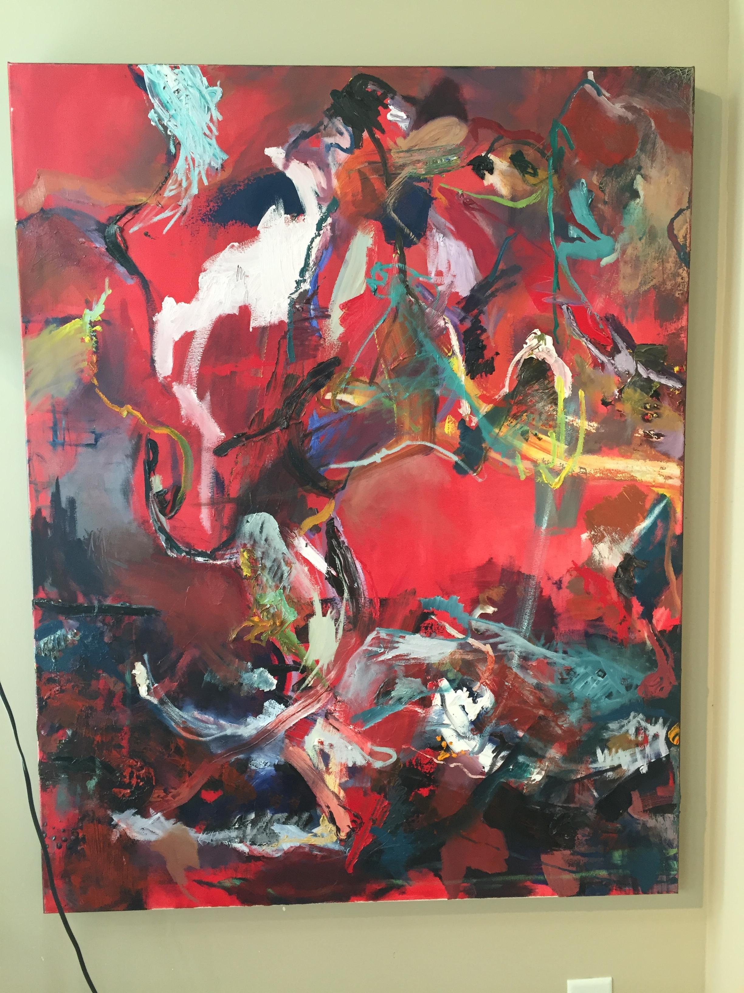 Surge |  56x44 | oil on canvas | $2,400