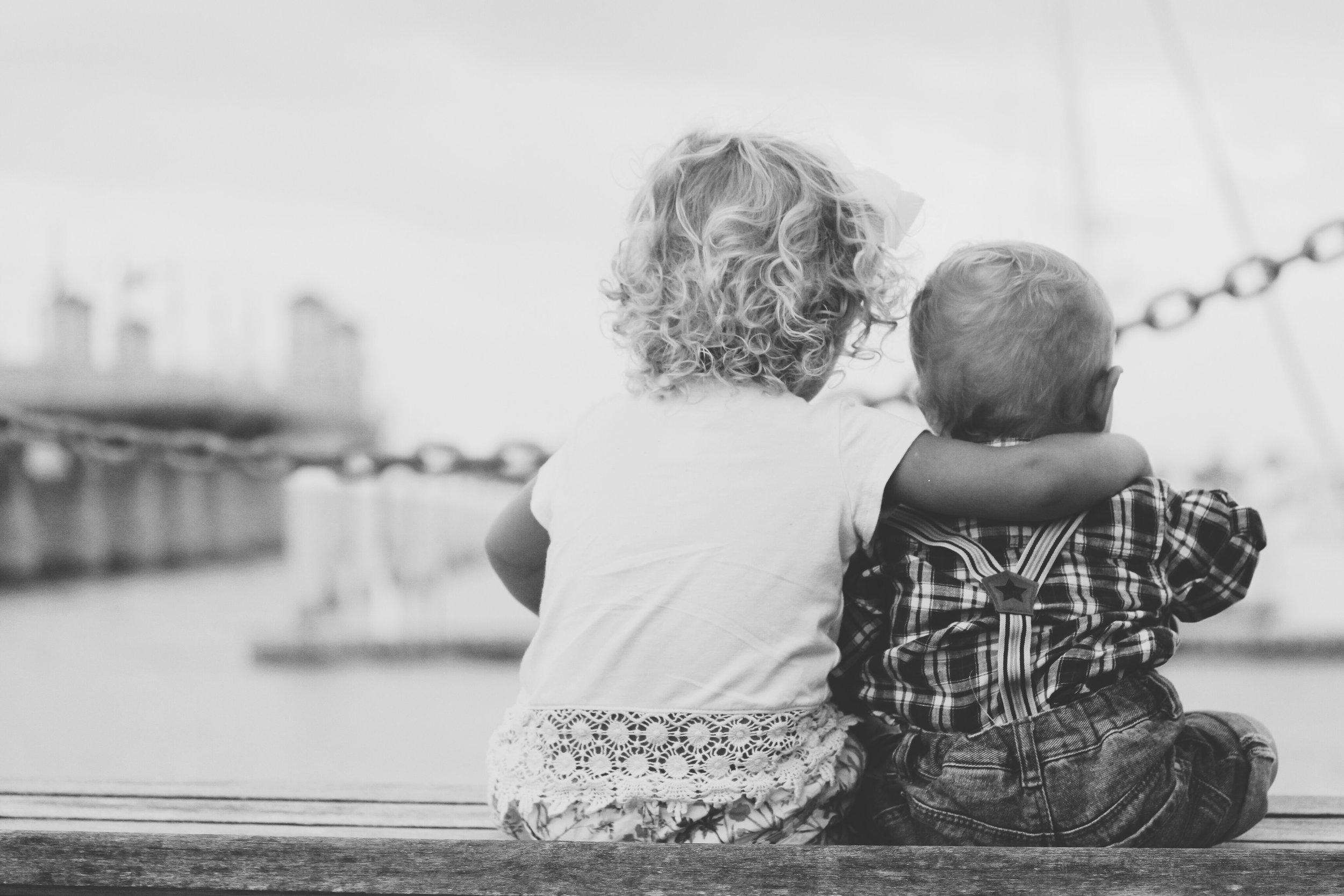Kids Cuddle | Suzanne Szabo Kindness Blog | Keri Gold Salon Buckhead