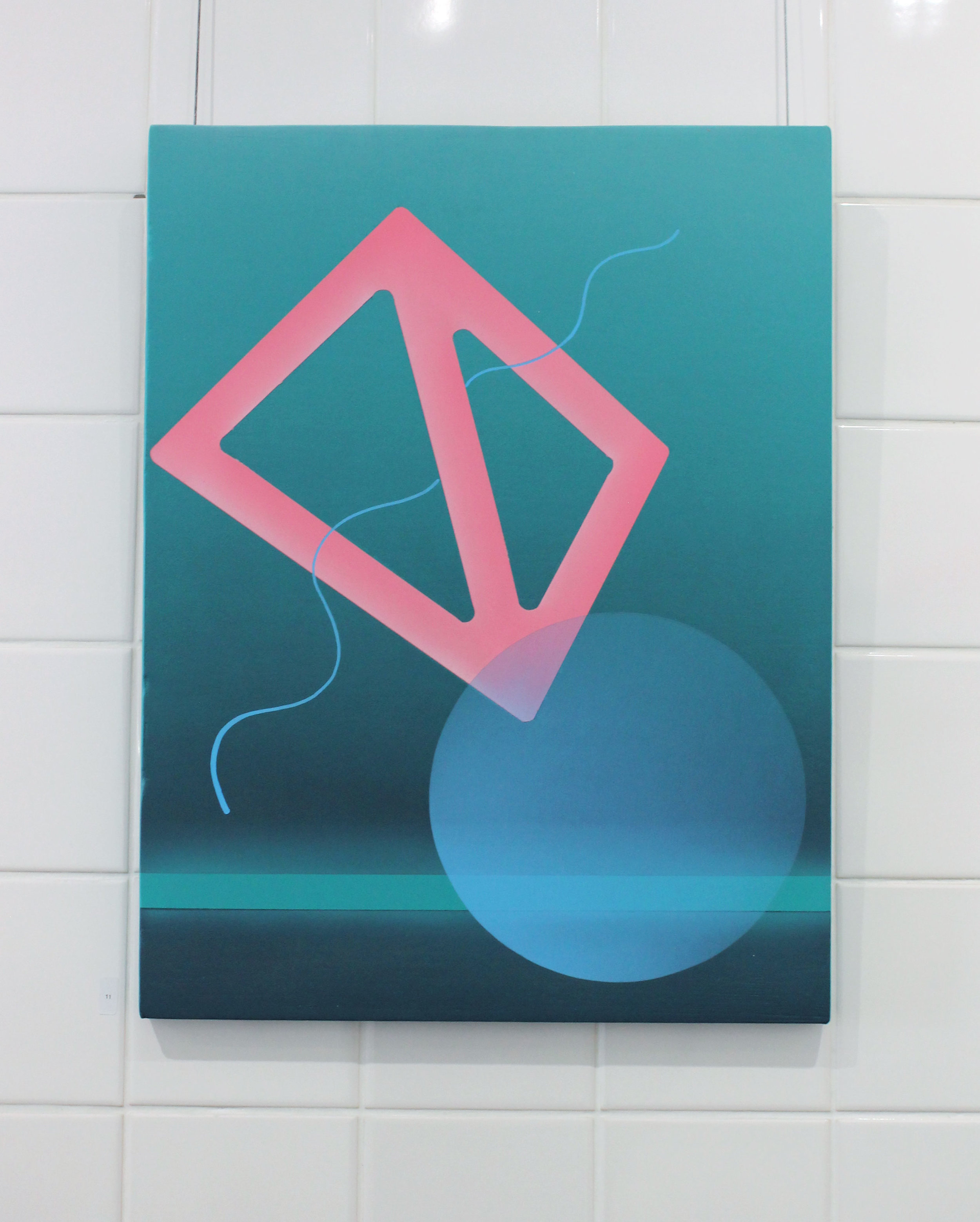 art, graphic art, Australian artist, contemporary art, Australian artist, Perth artist, painting, futuristic, gradient, exhibition, disabled artist, bruno booth