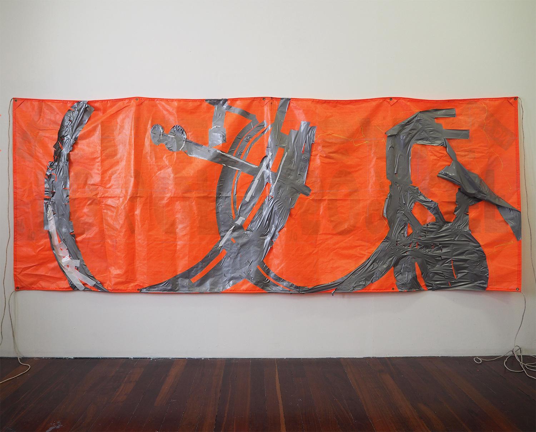 Australian artist, contemporary art, Australian artist, Perth artist, painting, futuristic, gradient, exhibition, disabled artist