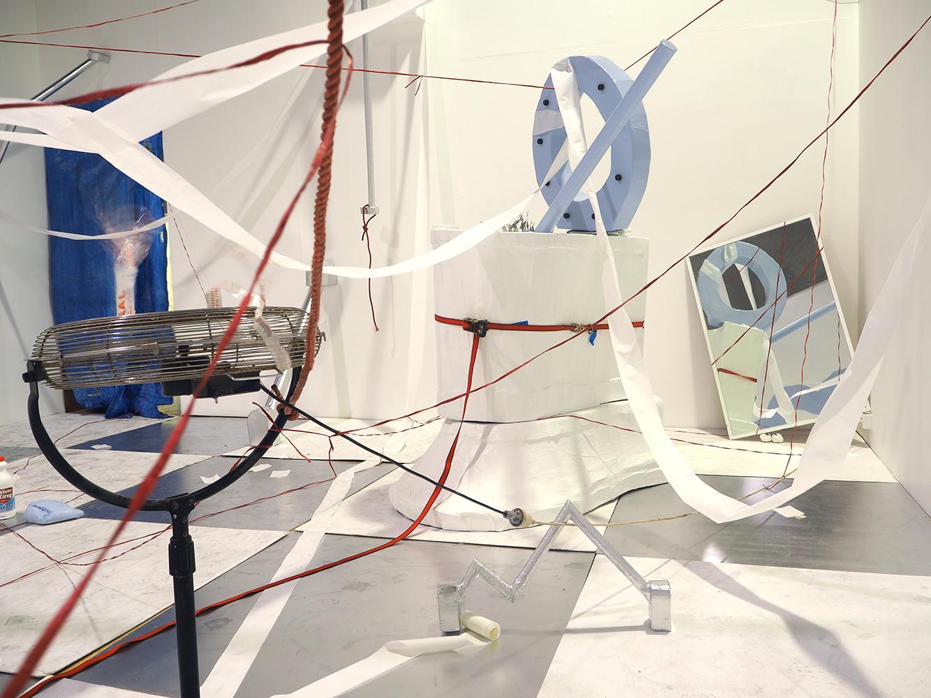 contemporary art, Australian artist, Perth artist, painting, futuristic, gradient, exhibition, disabled artist