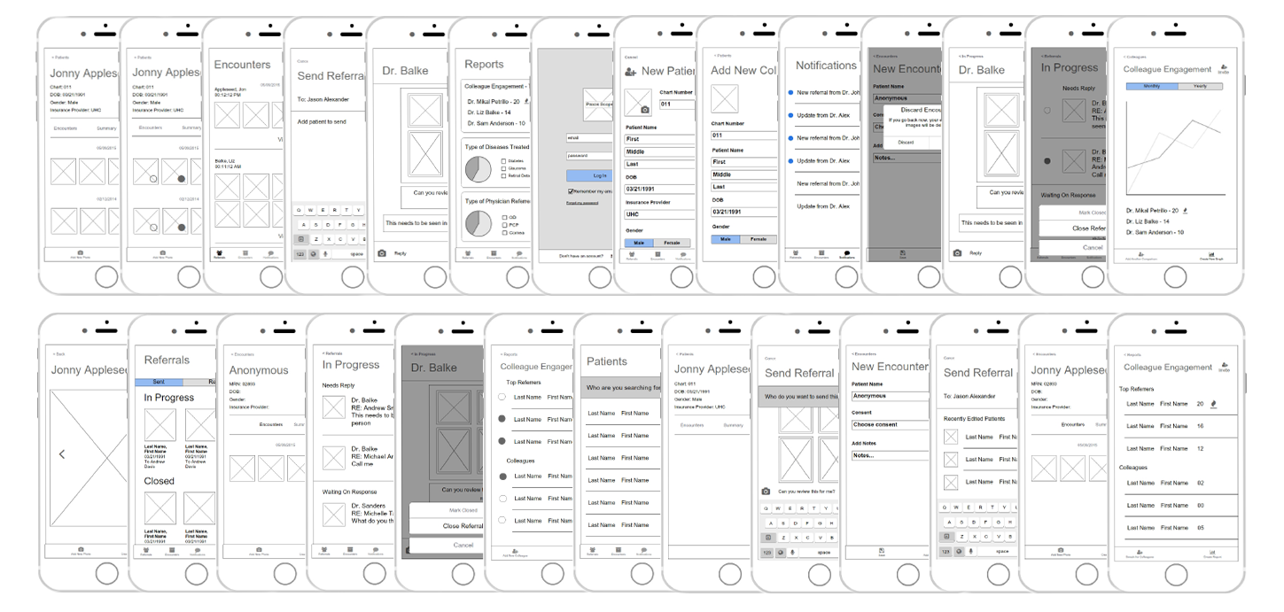 Copy of Wireframes for Paxos
