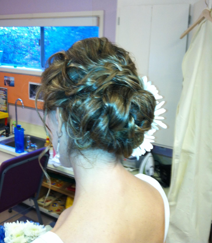 Maria Milanes Hair - Special Occasion, Wedding, Up-Do, Up-do, Valencia, Los Angeles, Granada Hills