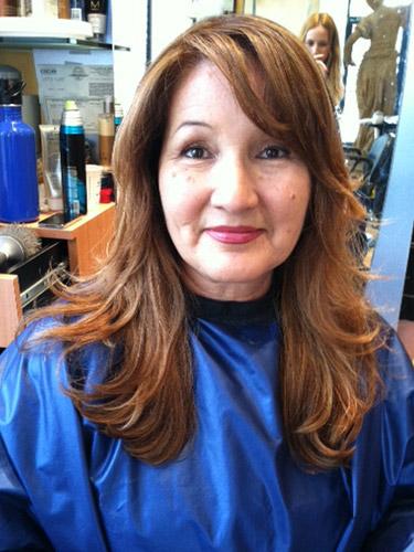 Maria Milanes Hair (after) - Valencia