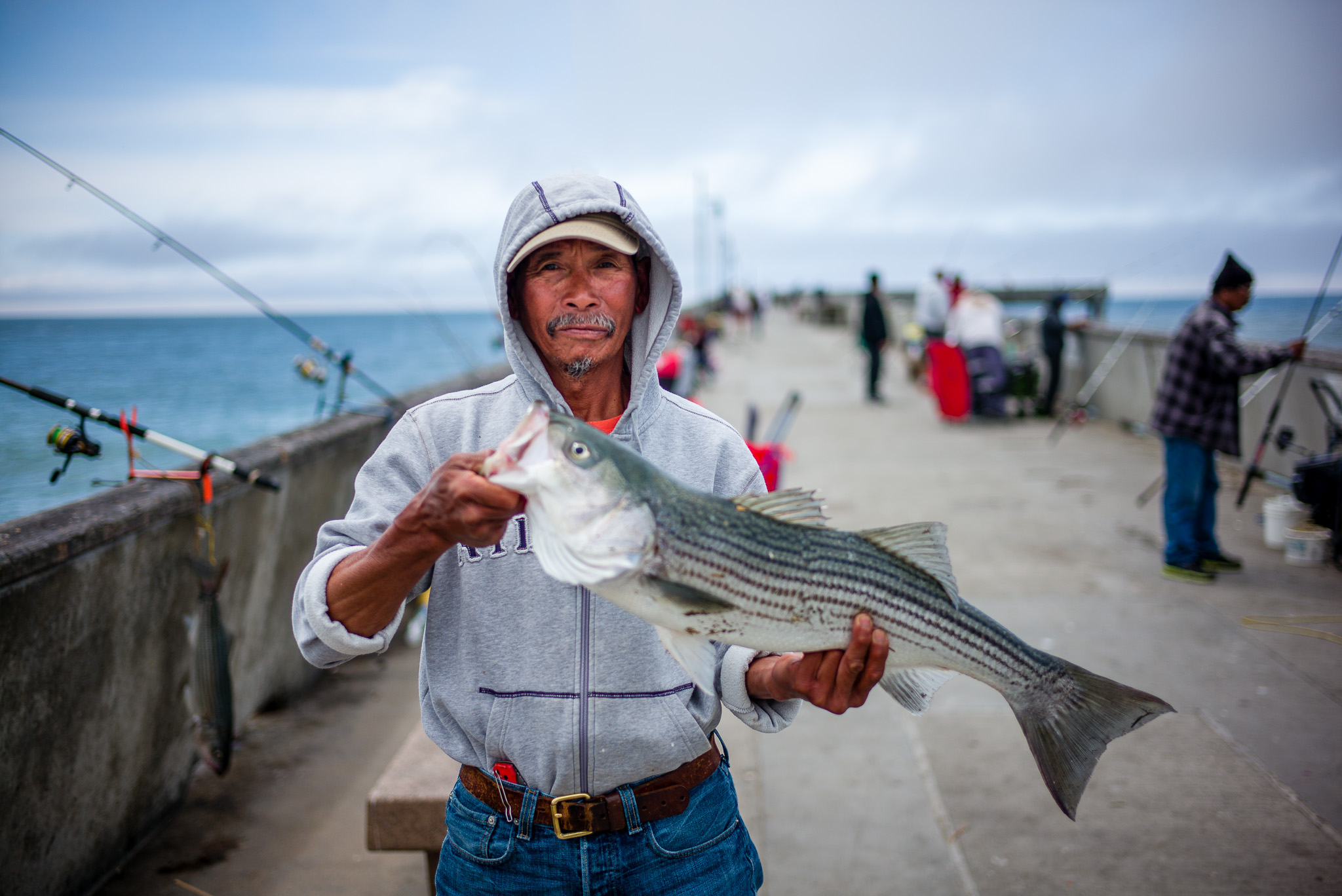 Pacifica Pier Fisherman