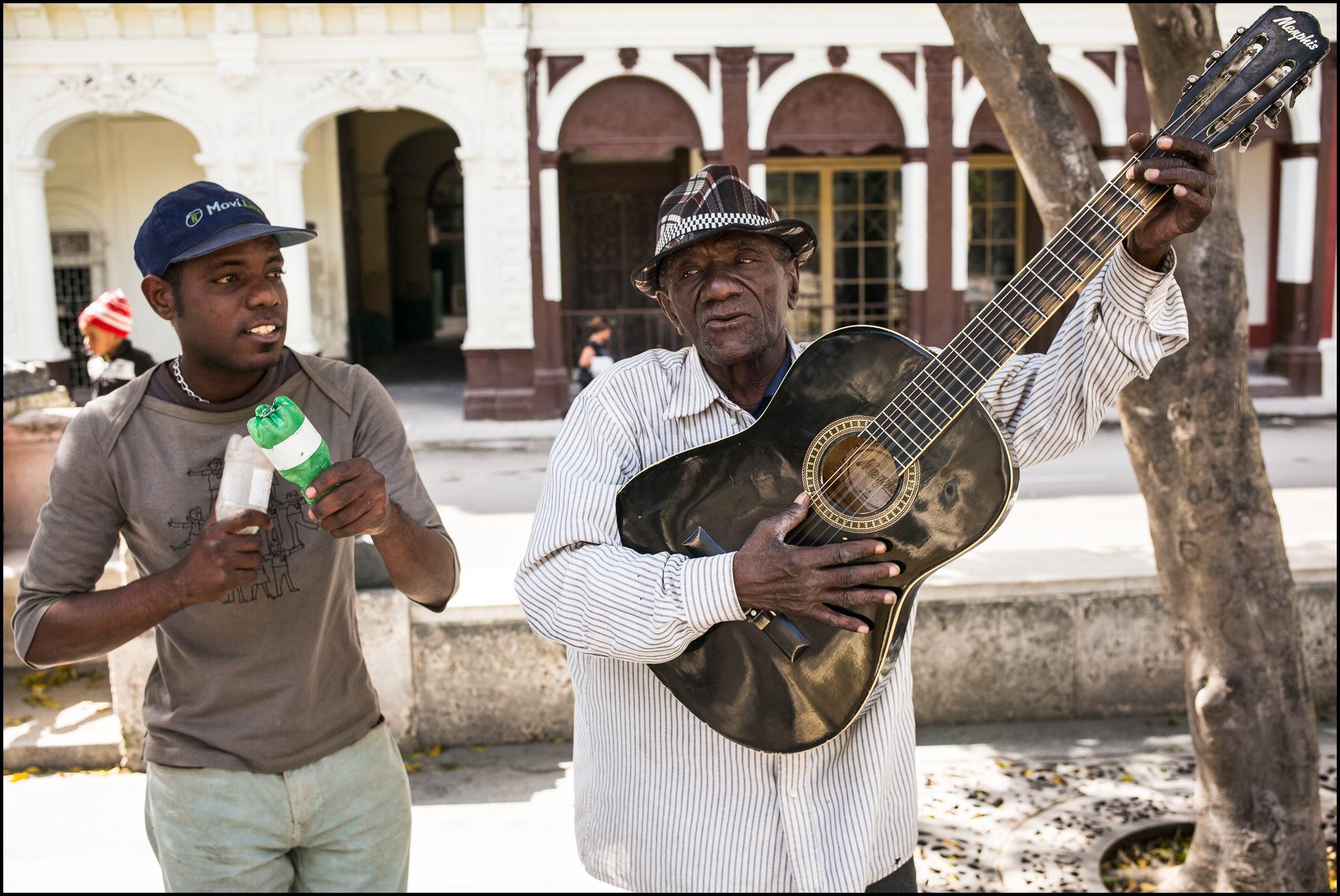 Street Musicians, Prado