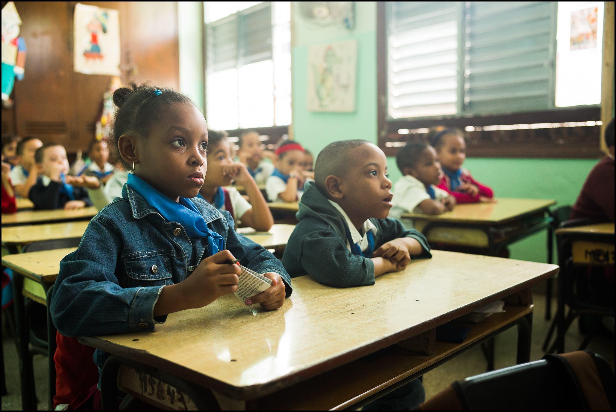 Schoolchildren, Havana