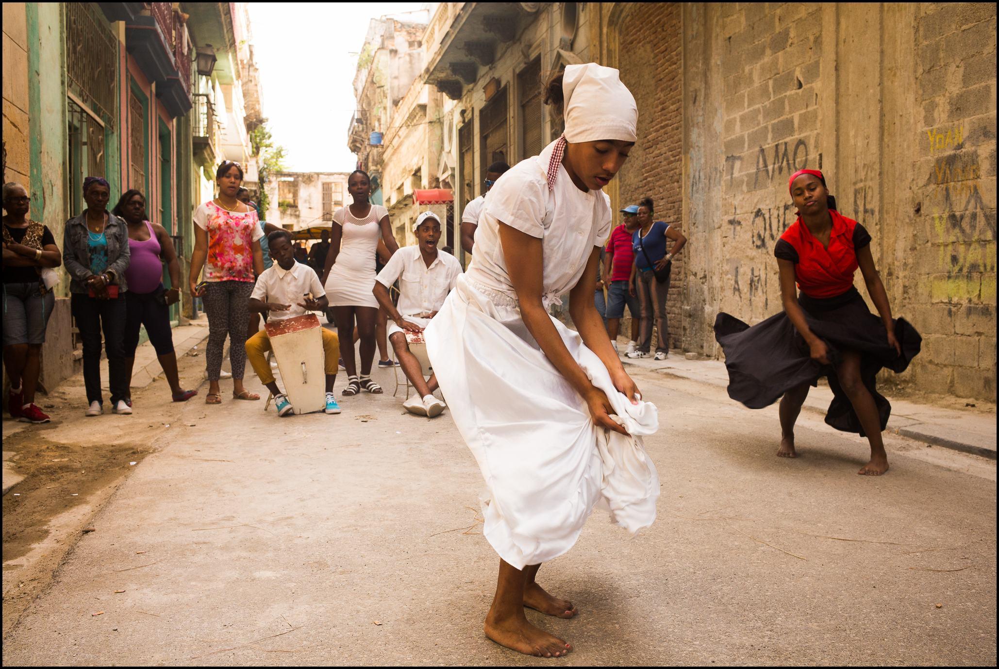 Santeria Dance Demonstration