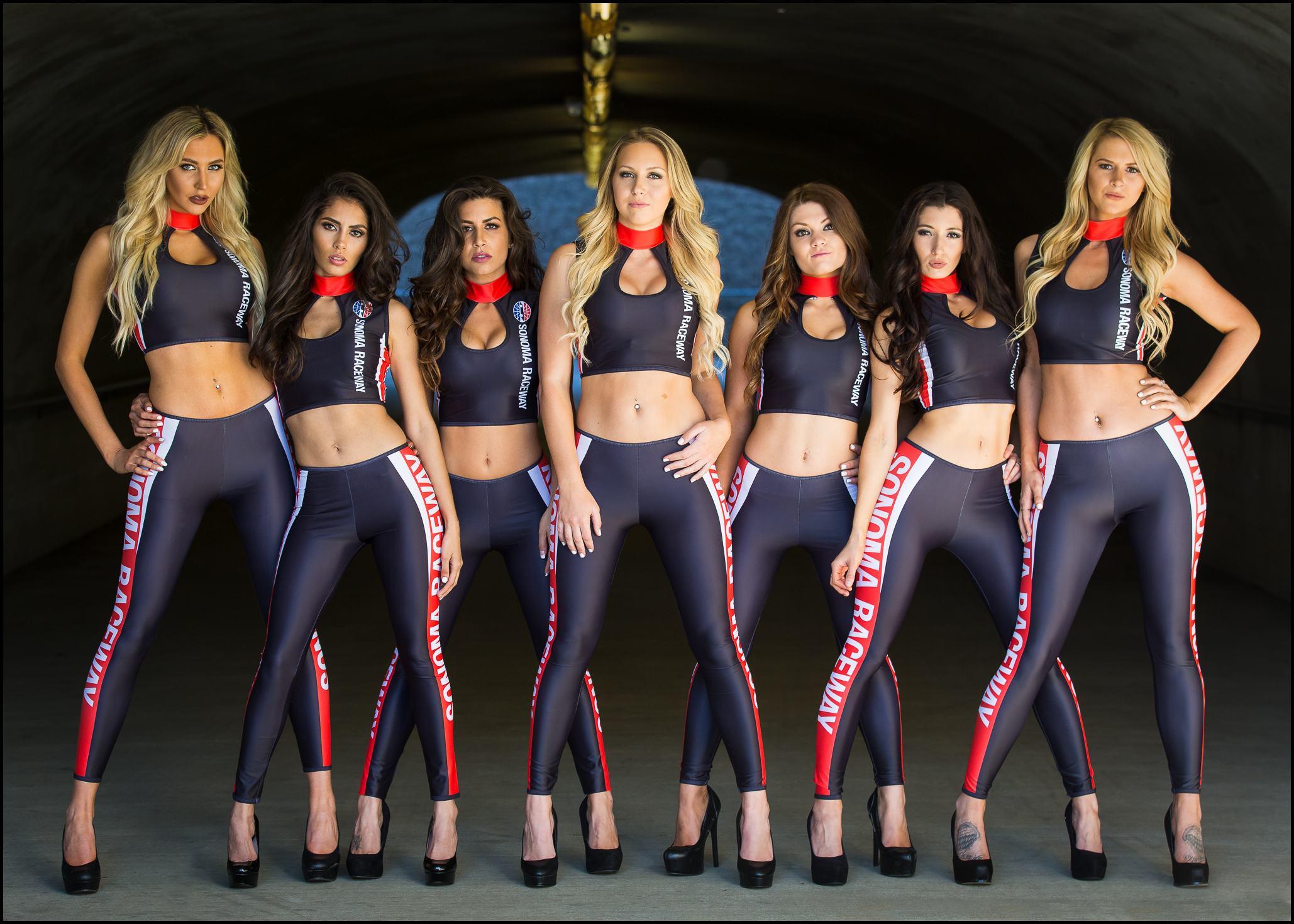 Sonoma Raceway Girls