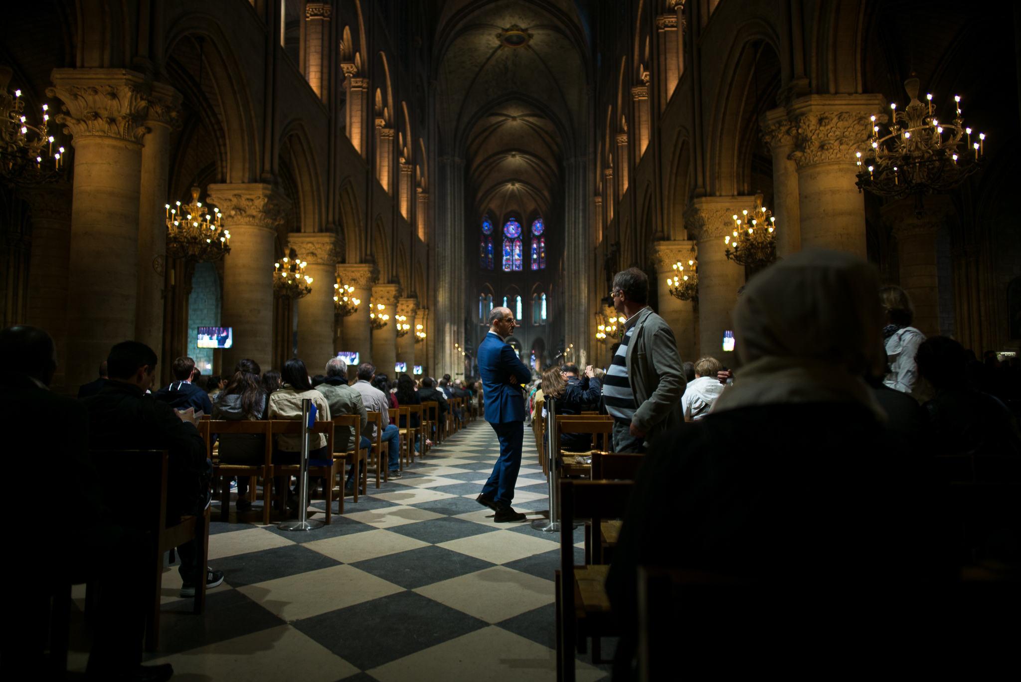 Notre Dame Usher