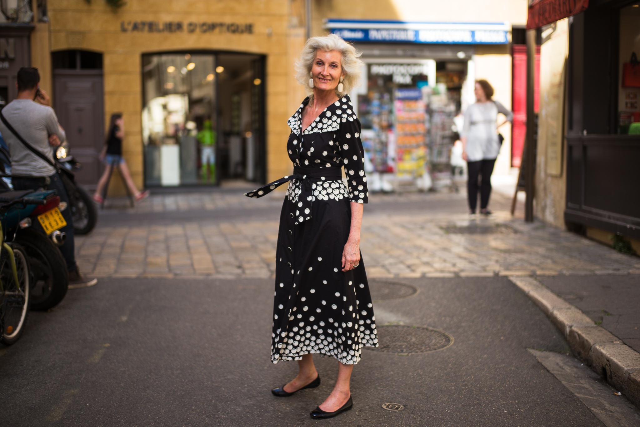 Beautiful Woman, Aix-en-Provence