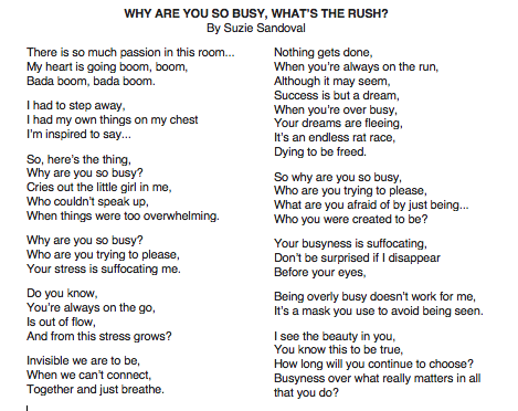 WHATS THE RUSH Poetry By Suzie Sandoval.png