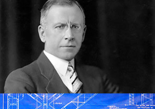 excommunicated engineering expert - Charles Ellis, the ruling expert on steel engineering used a slide rule to calculate all the forces by hand. His signature is on the bridge drawings in the library of congress but was only recently credited due to a tiff with Strauss.