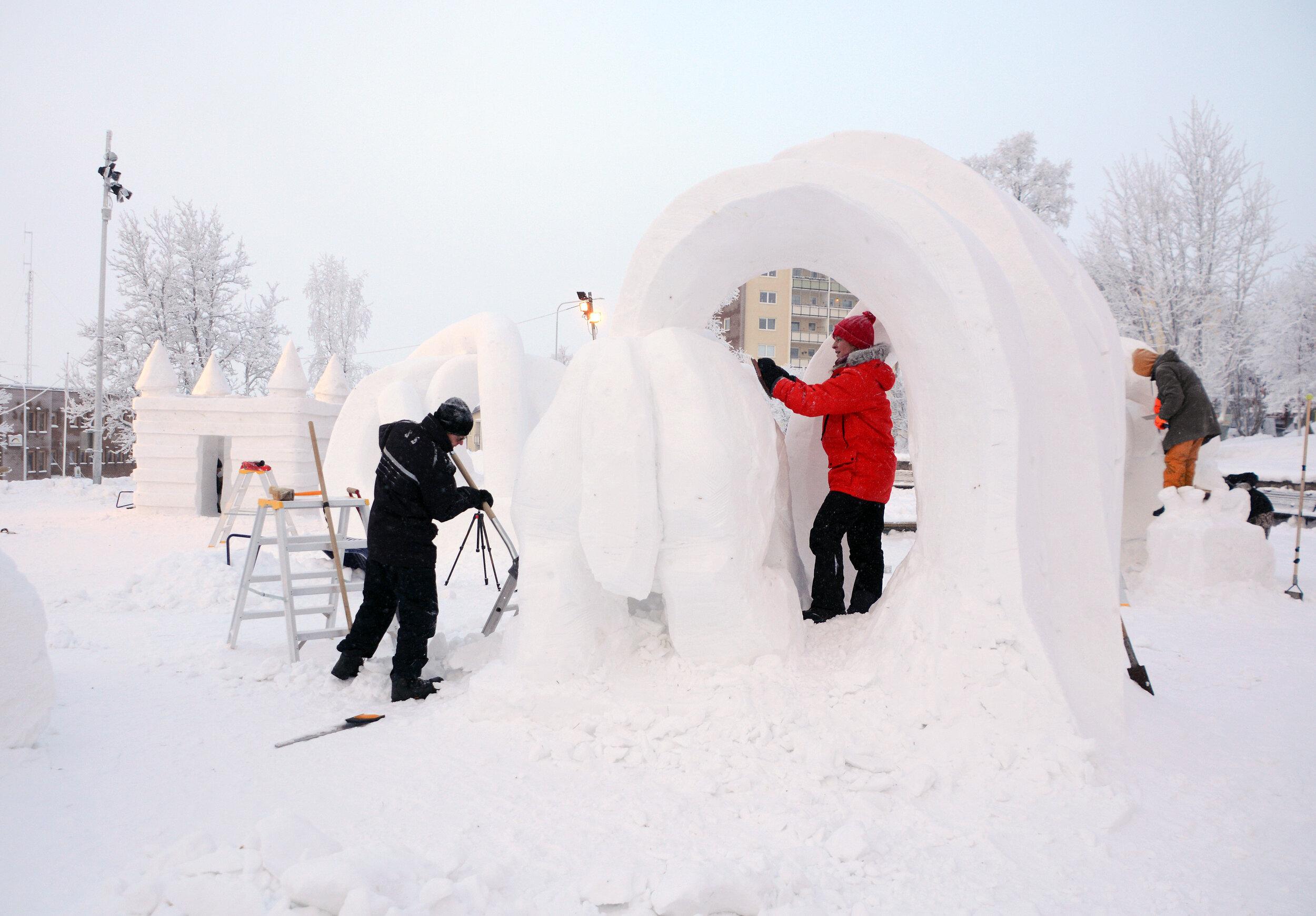 Kiruna Snow Festival 2019