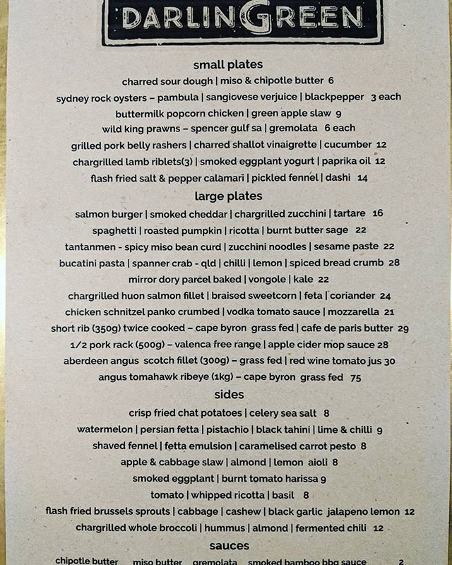 New year, new format, new menu . . . #sydneyrestaurants #sydneyfood #sydneydining #sydneyeats #sydneyeatshare #sydneyfoodshare #sydneyfoodies #goodfoodau #goodfood #newmenu #restaurantmenu #restaurantaustralia #innerwestsydney #innerwestisbest #balmain #darlingreen #darlingreenbalmain #balmainlocal #balmainrozelle #sydneylocal #chefstable #cheflife #discoversydney