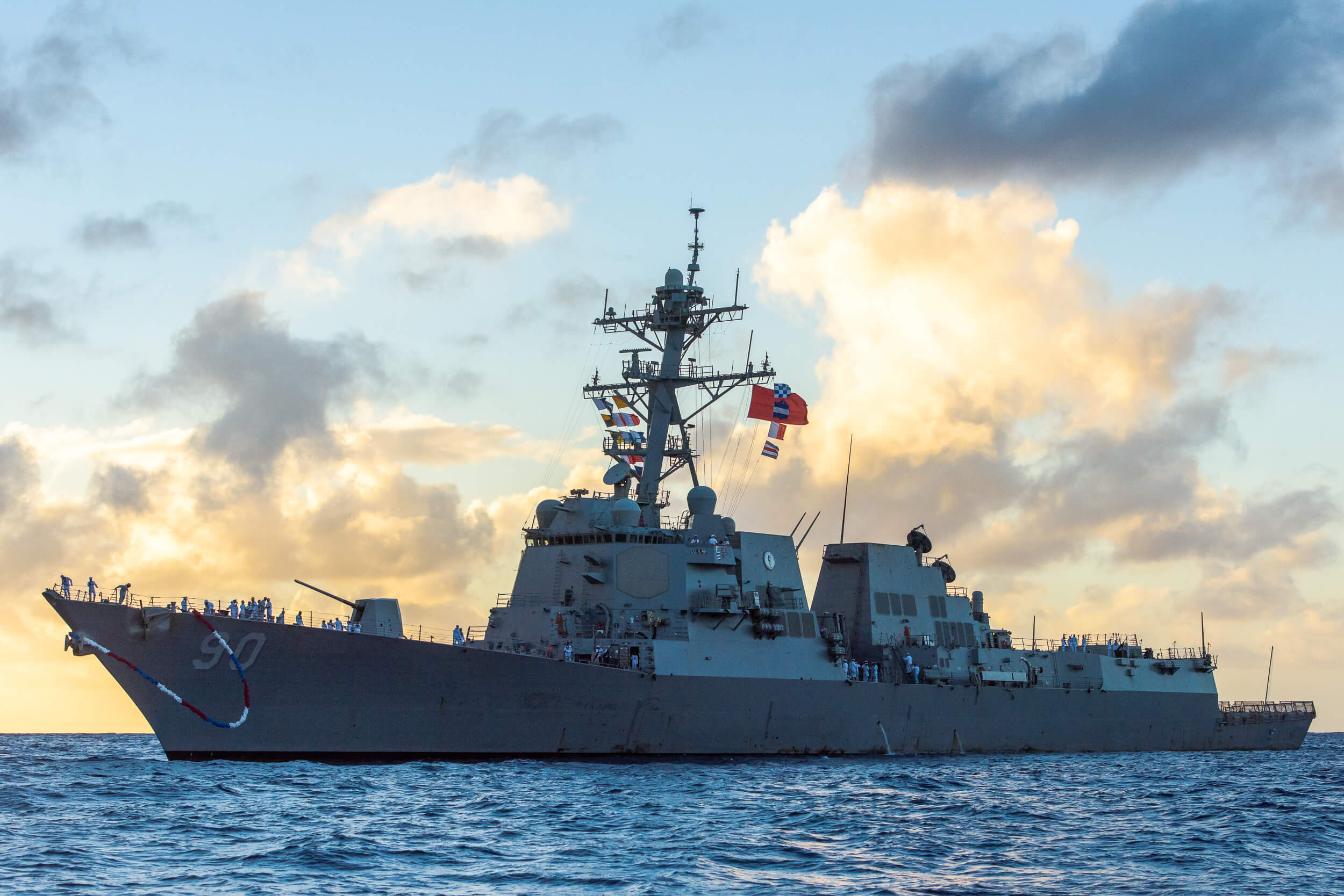 RETURN OF THE USS CHAFEE - FOR HAWAII BUSINESS MAGAZINE