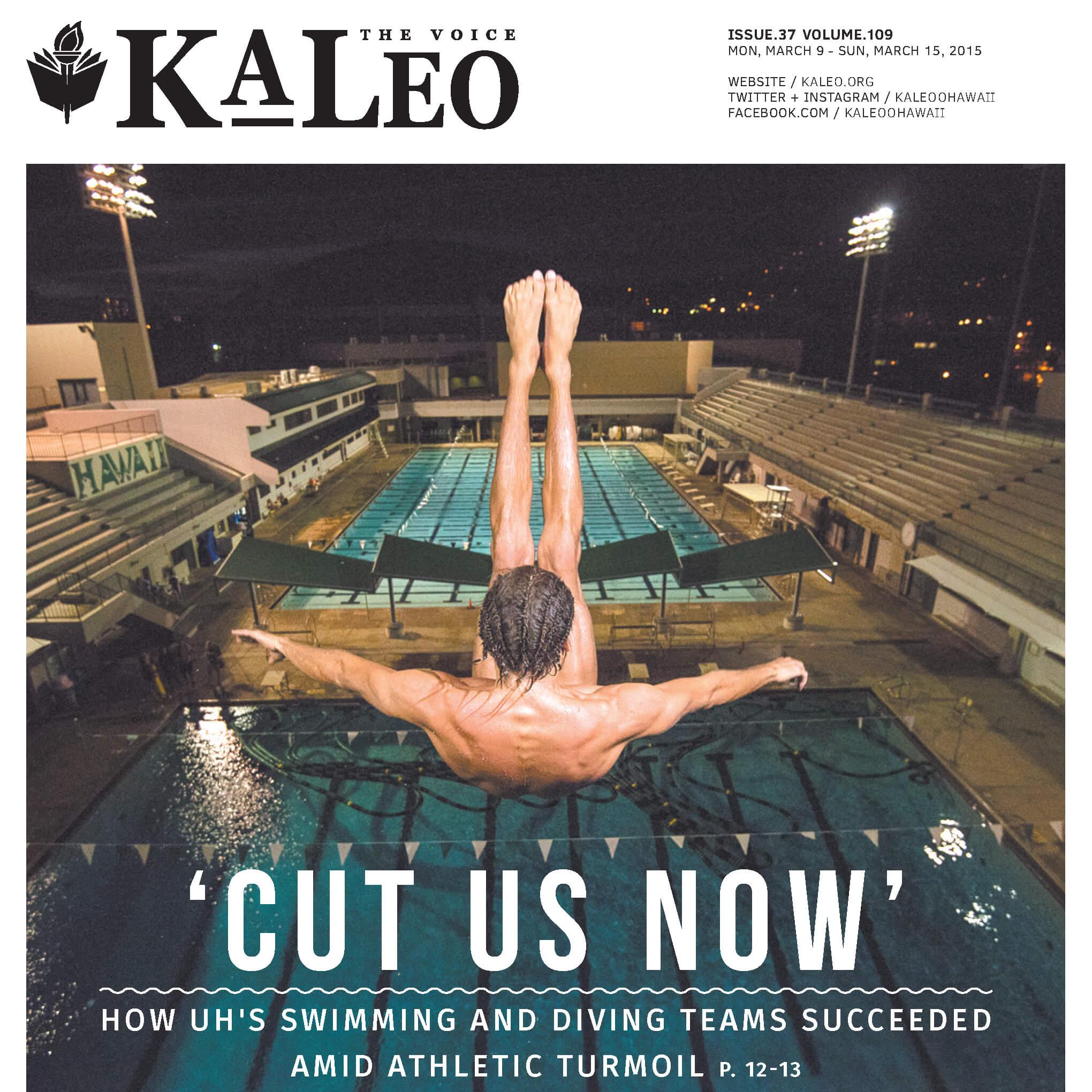 """""""CUT US NOW"""" - FOR KA LEO O HAWAII"""