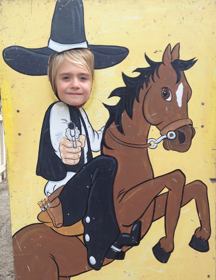 Don't underestimate the strength of a cranky cowgirl.