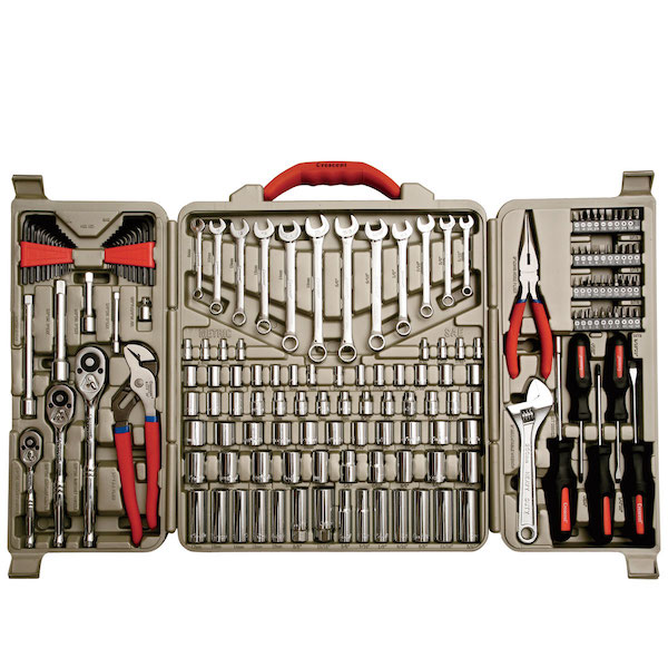I wanted a serious toolkit, of course, like this one.
