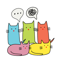 overthinking cats
