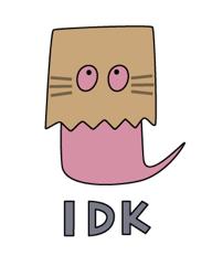 overthinking brown bag emoji