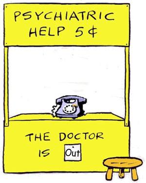 Lucy Peanuts therapist