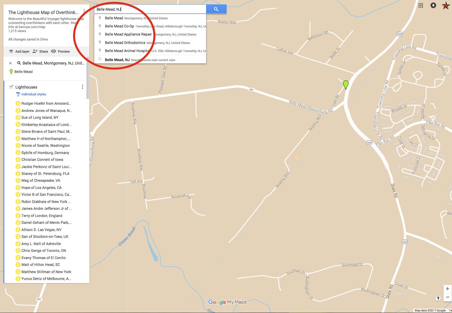 google my maps