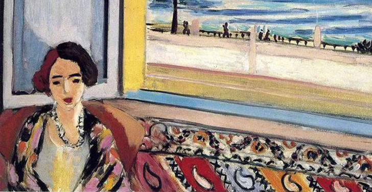 Henri Matisse, Seated Woman, Back Turned to the Open Window, 1922.